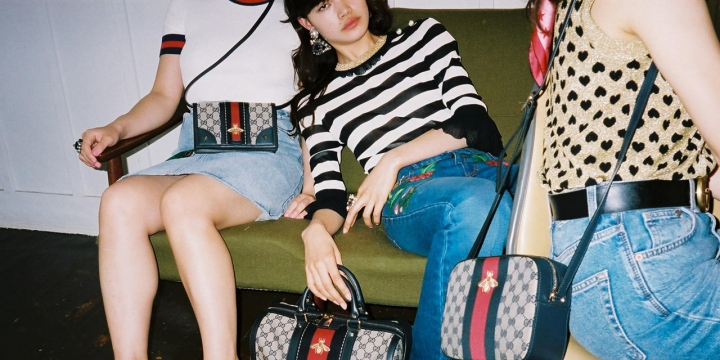 GUCCI × VOGUE girl 撮影