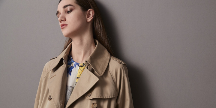 TOMORROWLAND TRENCH COAT collection