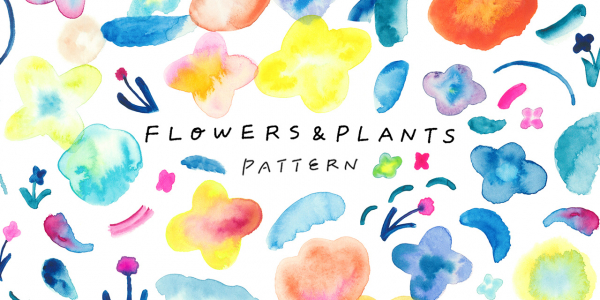 【tiny design store】「FLOWERS & PLANTS PATTERN 10点セット」が新登場!